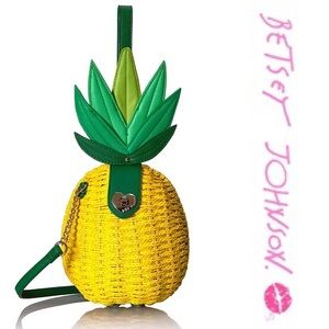 Betsy Johnson Pineapple Purse